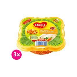 Hami Príkrm Malý Gurmán, paradajky, makaróny, kura 3x230g