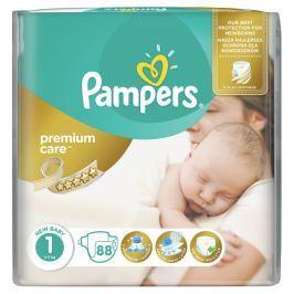 Pampers Premium Care 1, 88 ks (2-5 kg) - jednorazové plienky