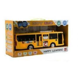 Teddies Autobus 30 cm so zvukom a svetlom na zotrvačník