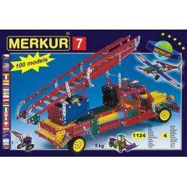 Merkur Stavebnica 7 100 modelov - 1124 ks, 4 vrstvy