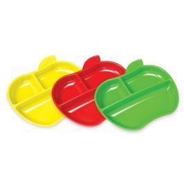 Munchkin Súprava farebných delených tanierov 3ks
