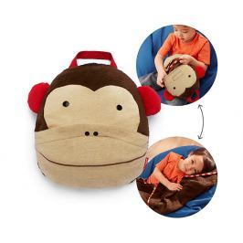 SKIP HOP Cestovná deka - Zoo opička