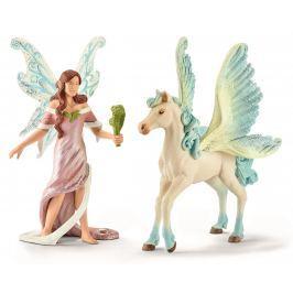 Schleich Elfí víla Safenja s koňom 70539