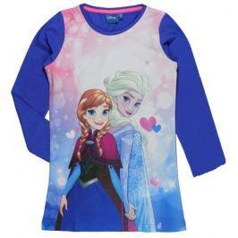 E plus M Dievčenská nočná košeľa Frozen - modrá
