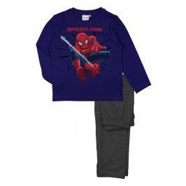 E plus M Chlapčenské pyžamo Spiderman - modro-šedé