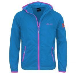 Trollkids Dievčenské bežecká bunda Fjell - svetlo modrá