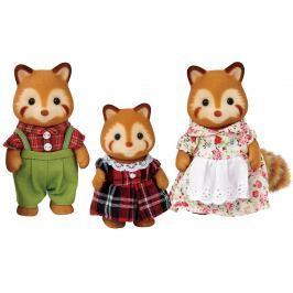 Sylvanian Families Rodina - rodina červenej pandy