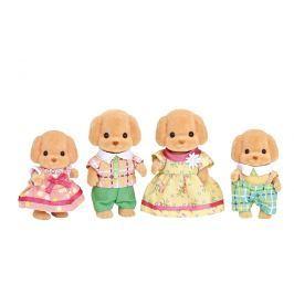 Sylvanian Families rodina pudlov