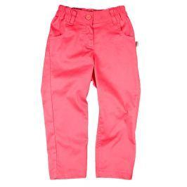 MMDadak Dievčenské nohavice Koral - ružové