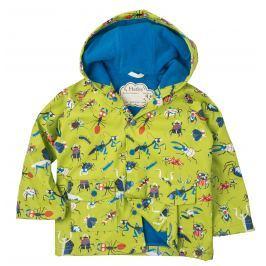 Hatley Chlapčenská bunda proti dažďu - zelená
