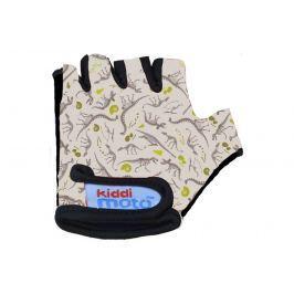 Kiddimoto Cyklistické rukavice Fossil - farebné, veľkosť S