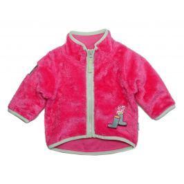Gelati Dievčenská chlpatá mikina - ružová