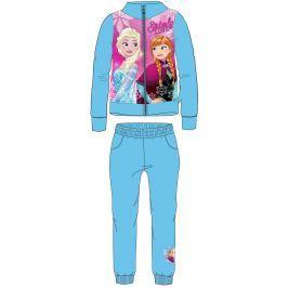 E plus M Dievčenská tepláková súprava Frozen - modrá