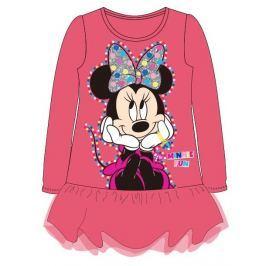 E plus M Dievčenské šaty Minnie - ružové