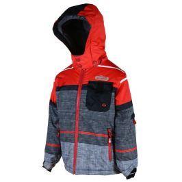 PIDILIDI Chlapčenská lyžiarska bunda - farebná
