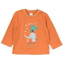 Venere Detské tričko s potlačou - oranžové