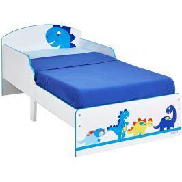 A.W. Detská posteľ Dinosaurus 140x70 cm