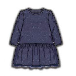 Minoti Dievčenské šaty Odyssey - modré