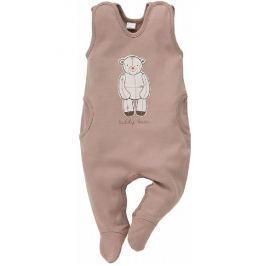 Pinokio Detské dupačky Teddy Bear - hnedé