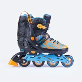 Spokey Turisti Kolieskové korčule čierno-oranžová ABEC5 carbon veľ. 33-36