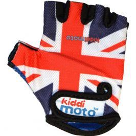 Kiddimoto Cyklistické rukavice Union Jack - stredná