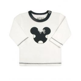 Nini Dievčenské tričko Minnie - biele