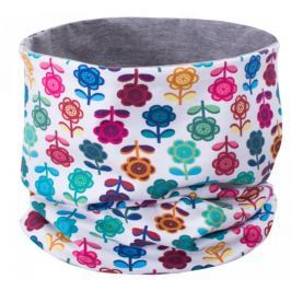 Unuo Dievčenský nákrčník s kvetinkami - farebný