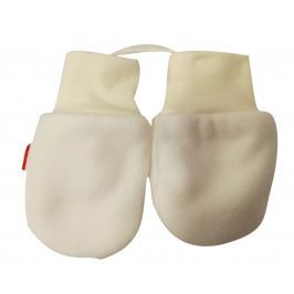 Broel Chlapčenské rukavice Polarek - béžové