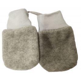 Broel Dievčenské rukavice Polarek - šedé