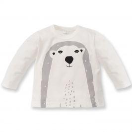 Pinokio Chlapčenské tričko s ľadovým medveďom North - béžové