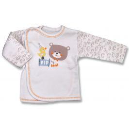 Lafel Detské zavinovacie tričko VIP - biele