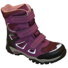 Peddy Dievčenské zimné topánky - fialové