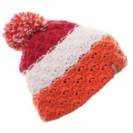 Nordblanc Dievčenská prúžkovaná čiapka - farebná