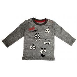 Carodel Chlapčenské tričko s očičkami - šedé