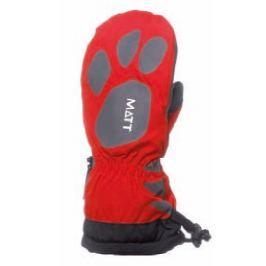 Matt Dievčenské rukavice Claw - červené