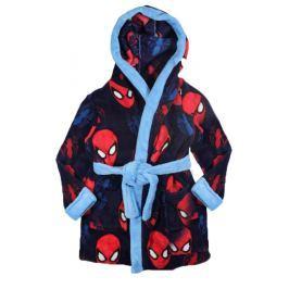 E plus M Chlapčenský župan Spiderman - tmavomodrý