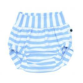 Lamama Chlapčenské nohavičky na plienku Stripes - modro-biele
