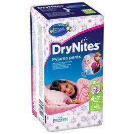 Huggies DryNites nohavičkové plienky pre dievčatá 4-7 rokov (17-30kg), 10ks