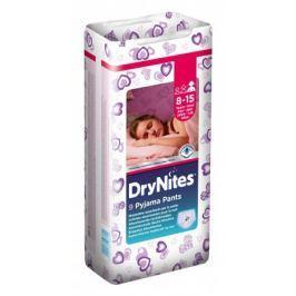 Huggies DryNites nohavičkové plienky pre dievčatá 8-15 rokov (27-57kg), 9ks