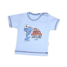 Mamatti Chlapčenské tričko s delfínom - modré