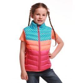 ALPINE PRO Dievčenská vesta Kapet - farebná