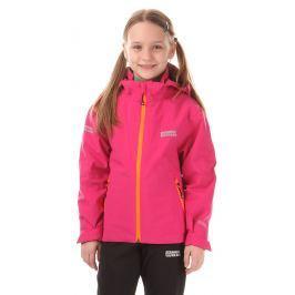 Nordblanc Dievčenské nepremokavá bunda - ružová