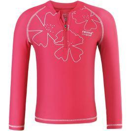 Reima Dievčenské plavecké tričko Solomon s UV ochranou 50+ - ružové