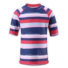 Reima Dievčenské plavecké tričko Fiji s UV ochranou 50+ - červené