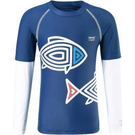 Reima Chlapčenské plavecké tričko Bay s UV ochranou 50+ - modré