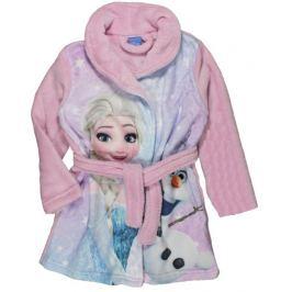 E plus M Dievčenský župan Frozen - ružový