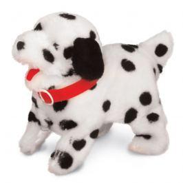Mac Toys Psík akrobat - bielo / čierny