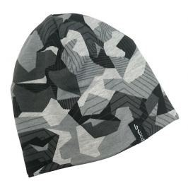 Bexa Chlapčenská vzorovaná čiapka s fleecom Maro - šedá