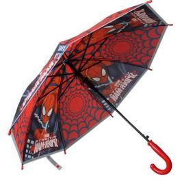 E plus M Chlapčenský dáždnik Spiderman - červeno-čierny