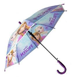E plus M Dievčenské dáždnik Frozen - modrý
